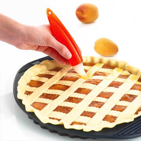 Mastrad - Pinceau-poire alimentaire en silicone