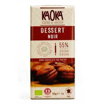 Kaoka - Organic Dark Chocolat Dessert Bar 55%