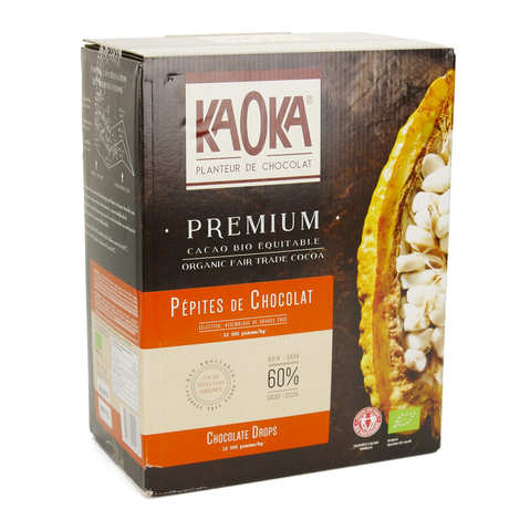 Kaoka - Pépites de chocolat noir 60% bio