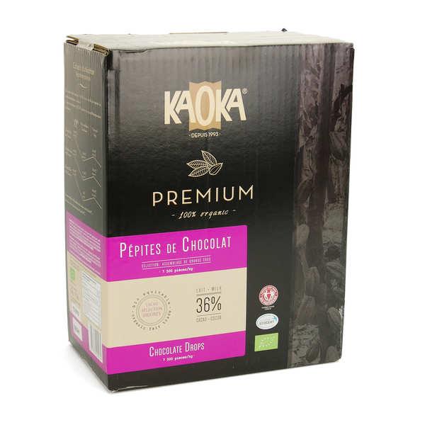 Pépites de chocolat au lait 36% bio