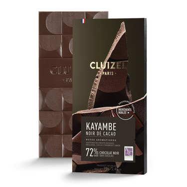 Tablette de chocolat noir - Noir de cacao 72%