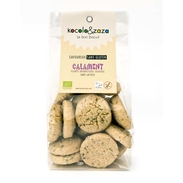 Organic Biscuits with Tea from Aubrac - Gluten and Lactose Free