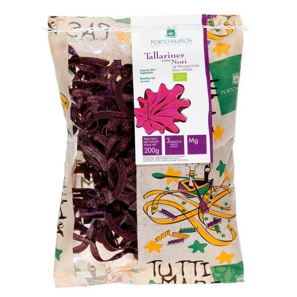 Organic tagliatelle with Noritake
