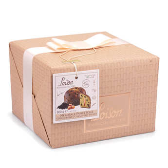 Dolciara A. Loison - Panettone with Chocolate and Salted Caramel