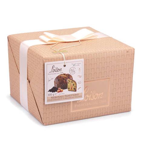 Dolciara A. Loison - Panettone au chocolat et au caramel au beurre salé