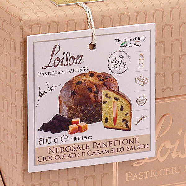 Panettone with Chocolate and Salted Caramel