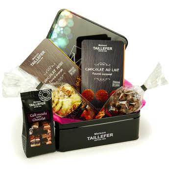 Maison Taillefer - Coffret métal chocolat - Maison Taillefer
