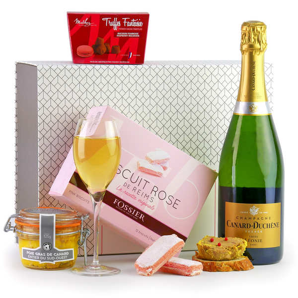 Champagne & Co Gift Box