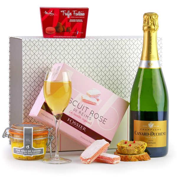Coffret cadeau Champagne & Co