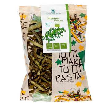 Porto Muinos - Organic tagliatelles and Wakame