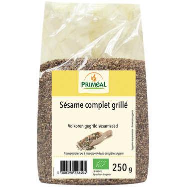 Organic toasted whole wheat sesame