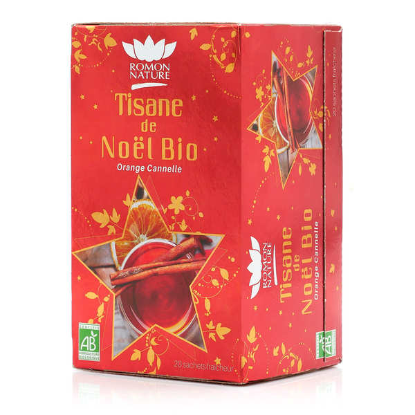 Organic Christmas Herbal Tea Romon Nature