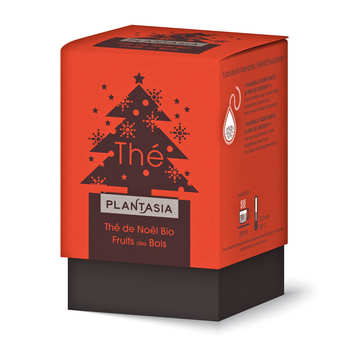 Plant'asia - Thé de Noël bio fruits des bois