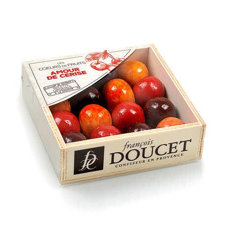 François Doucet Confiseur - Wooden Gift Box of Cherry's Delight by François Doucet