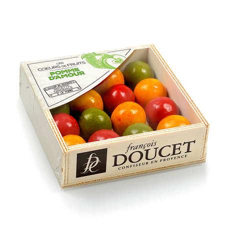 François Doucet Confiseur - Coffret bois pomme d'amour - François Doucet