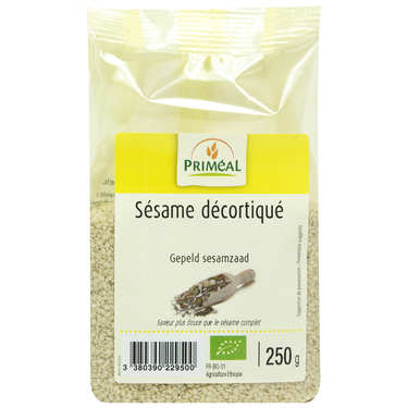 Organic shelled sesame seeds