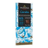 Valrhona - Tablette de chocolat noir Caraïbe 66% - Valrhona
