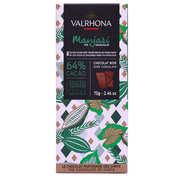 Valrhona - Tablette de chocolat noir Manjari Pur Madagascar 64% - Valrhona