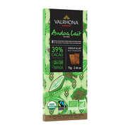 Valrhona - Tablette de chocolat au lait Andoa lactée 39% - Valrhona