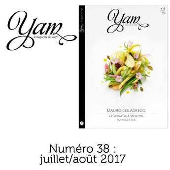 Yannick Alléno Magazine - French magazine about cuisine - YAM n°38