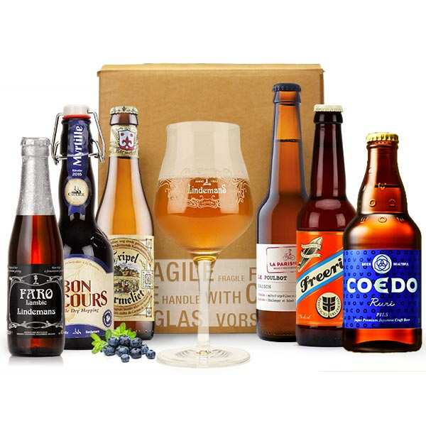 Box découverte de 6 bières d'août