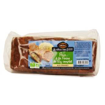 Michel Montignac - Organic Sliced Wholegrain Rice Bread with Seeds