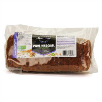 Michel Montignac - Organic Sliced Integral Bread  with Seeds- Montignac