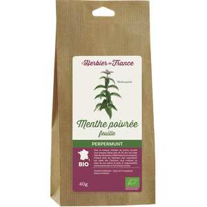 Cook - Herbier de France - Organic peppermint infusion
