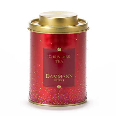 Christmas Black Tea Metal Box - Dammann Frères