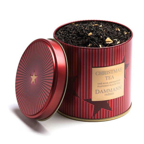 Thé noir de Noël en boîte métal - Dammann Frères