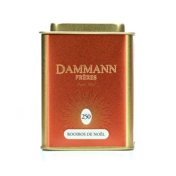Rooibos de Noël en boîte métal - Dammann Frères