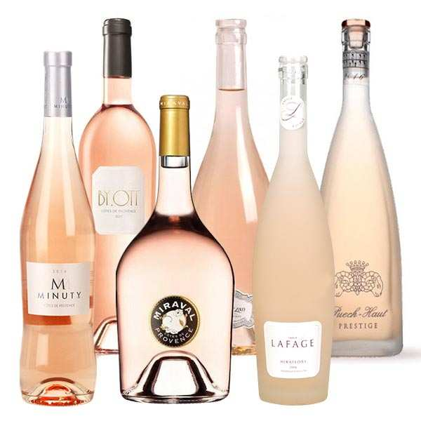 6 Prestigious Rosés from South of France