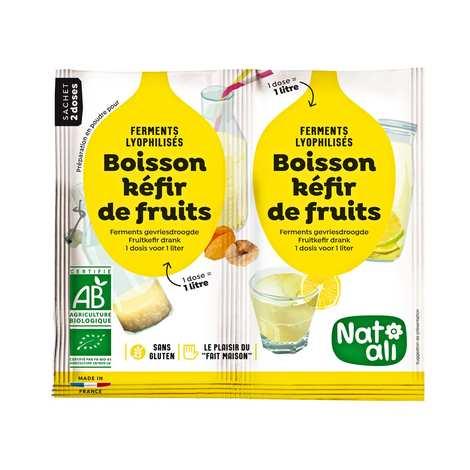 Nat-Ali - Préparation pour boisson kéfir de fruit bio