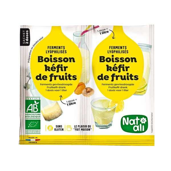 Préparation pour boisson kéfir de fruit bio