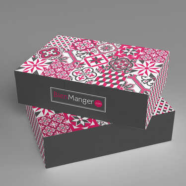 Decorated Gift box BienManger