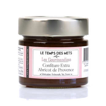 Le Temps des Mets - Apricot of Roussillon Jam