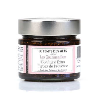 Le Temps des Mets - Fig of Provence Extra Jam