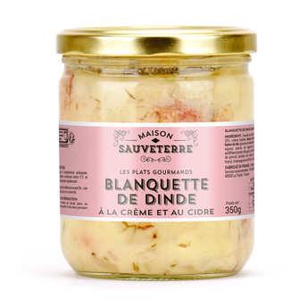 Maison Sauveterre - Blanquette de dinde à la crème et au cidre
