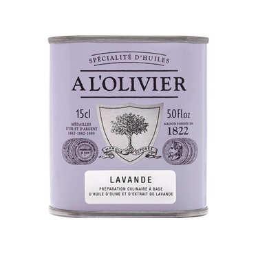 Huile d'olive vierge extra à la lavande
