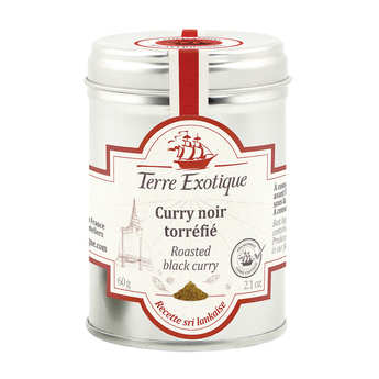 Terre Exotique - Roasted Black Curry Powder
