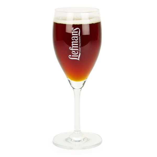 Verre à pied pour bière Liefmans 25cl