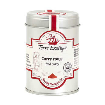 Terre Exotique - Thai Red Curry Powder