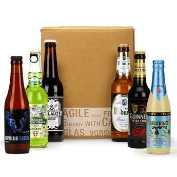 BienManger paniers garnis - Box découverte de 6 bières de septembre