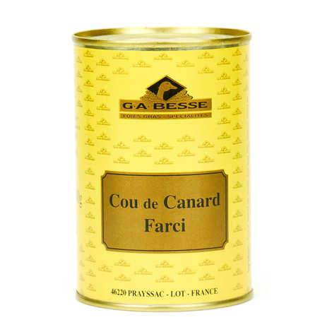 Foie gras GA BESSE - Cou de canard farci