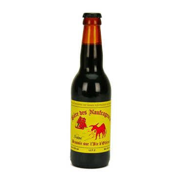 Bière noire de l'île d'Oléron - Brasserie Les Naufrageurs 6%
