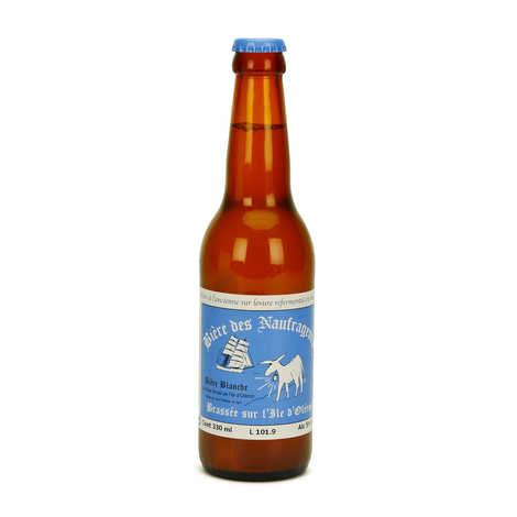 Bière des Naufrageurs - Bière blanche à la fleur de sel d'Oléron - Brasserie Les Naufrageurs 5%