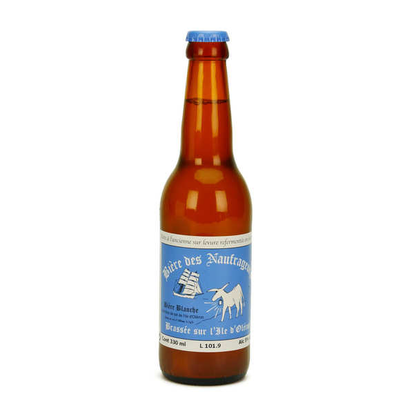 White Beer with Flower of Salt from France - Les Naufrageurs Brewery 5%