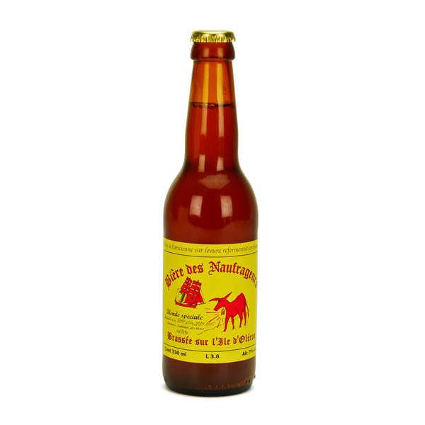 Bière blonde spéciale de l'île d'Oléron - Brasserie Les Naufrageurs 7%