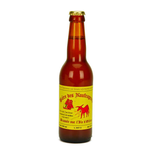 Bière blonde au mélilot de l'île d'Oléron - Brasserie Les Naufrageurs
