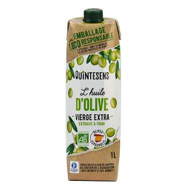 Huile d'olive vierge extra bio en tetra pak®